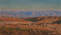 jerusalem hills by ludwig blum