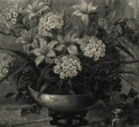 floral still life by maude kaufman eggemeyer