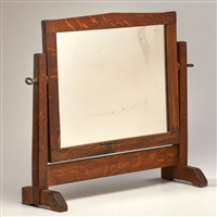 dresser mirror, eastwood, ny by gustav stickley
