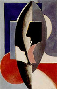 visages cubiste by auguste sandoz