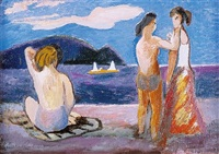 trzy dziewczyny nad morzem by roman selski