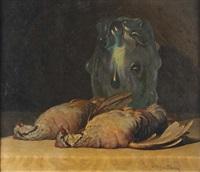 fagiani con vaso by rino gaspare battaini