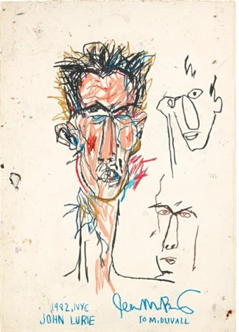 john lurie by jean michel basquiat