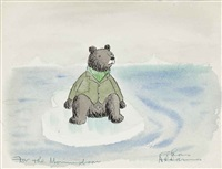 for the momma bear by charles addams