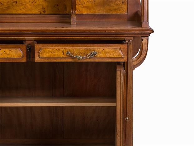 Léon Benouville, an Art Nouveau Cabinet, Paris, c. 1900 by Leon ...