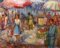 carmel market by avraham naton
