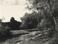 wooded landscape by charles linford