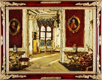 дворец искусств by leonard (leonid) viktorovich turzhansky
