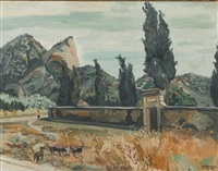 saint-rémy de provence by yves brayer