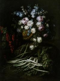 bacche, primizie e fiori della primavera, allegoria della primavera by giuseppe vicenzino