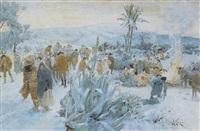 exode by felicien de myrbach-rheinfeld