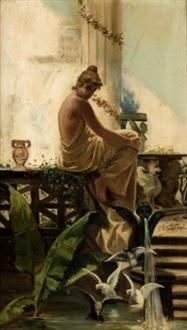 joven romana by horacio lengo y martinez