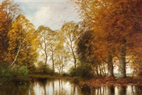 autumn day by pieter ten cate