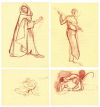 carnet de dessins (sketchbook) by jean bouchaud