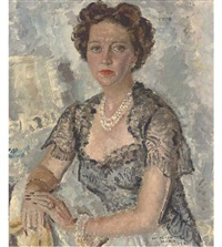 portrait of a lady by cathleen s. mann