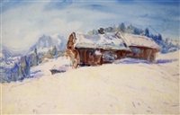 swiss scene by john peter russell