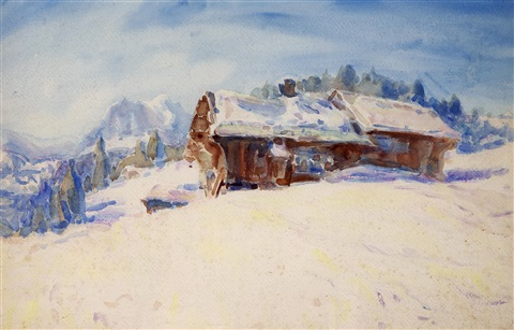 swiss scene by john peter russell
