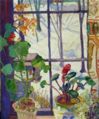 winter through the window by dorothy alden hapgood