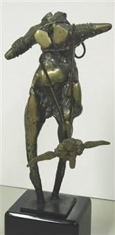 standing figure by luis montoya
