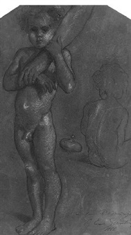 nude boys by jules emile saintin