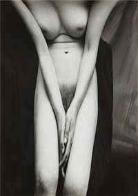 untitled (distortion #167) by andré kertész