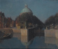 the singel, amsterdam by josef karel frans posenaer