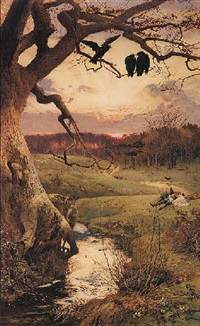 the three ravens by edward frederick brewtnall