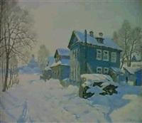 l'isba sous la neige by igor fadine