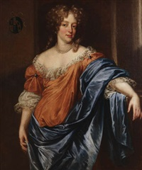 portrait d'une dame noble by pierre mignard the younger
