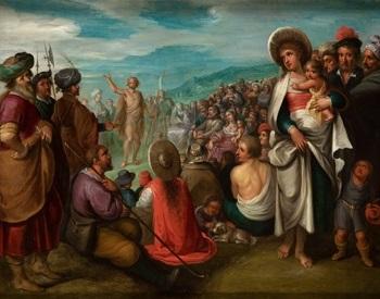predicación de san juan bautista by frans francken the younger