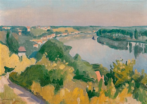 herblay, automne by albert marquet