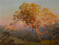 fading glow, carmel valley by frank montague moore