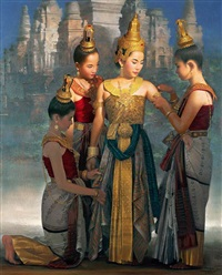 commemorative of sukhothai by rearngsak boonyavanishkul