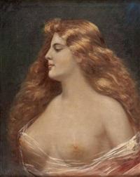 weiblicher halbakt by angelo asti
