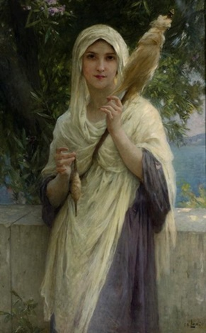the spinner by the sea by charles amable lenoir