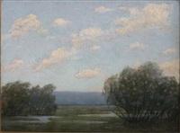 summer landscape by willard e. allen