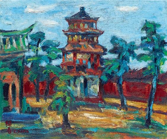 台南孔廟 tainan confucian temple by liao chi chun