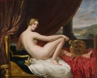 reclining nude by pietro luchine