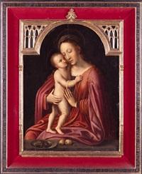 virgen con el niño by flemish school-bruges (16)