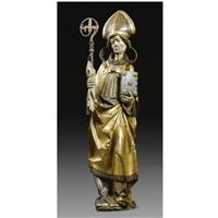 a bishop saint by valentin lendenstreich