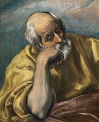 saint joseph by el greco