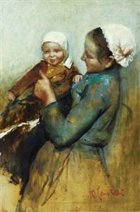 mother and child by romualdo locatelli