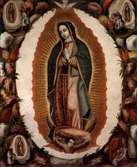 virgen de guadalupe by mexican school (17)