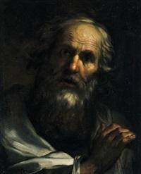 ritratto di uomo barbuto con gesto di oratore by giovanni battista pace
