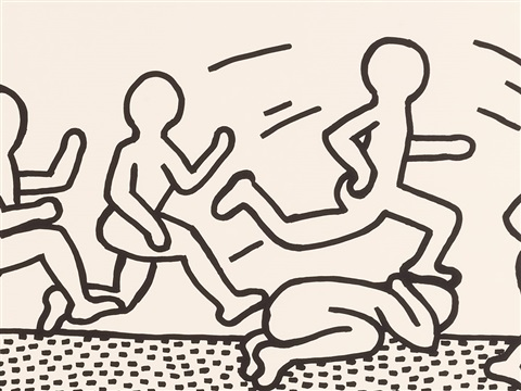 The blueprint drawings 3 by keith haring on artnet the blueprint drawings 3 by keith haring malvernweather Images