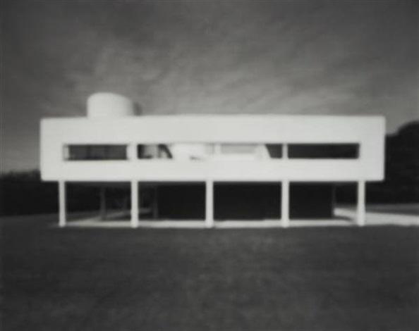 Villa Savoye, Le Corbusier by Hiroshi Sugimoto on artnet