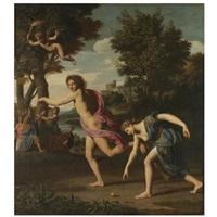 atalanta and hippomenes by nicolas colombel