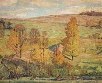 autumn landscape by bruce nelson