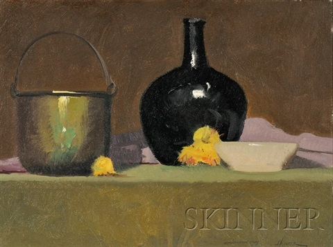 still life with vase study by robert douglas hunter