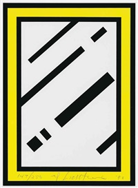 mirror (from harvey gantt portfolio) by roy lichtenstein